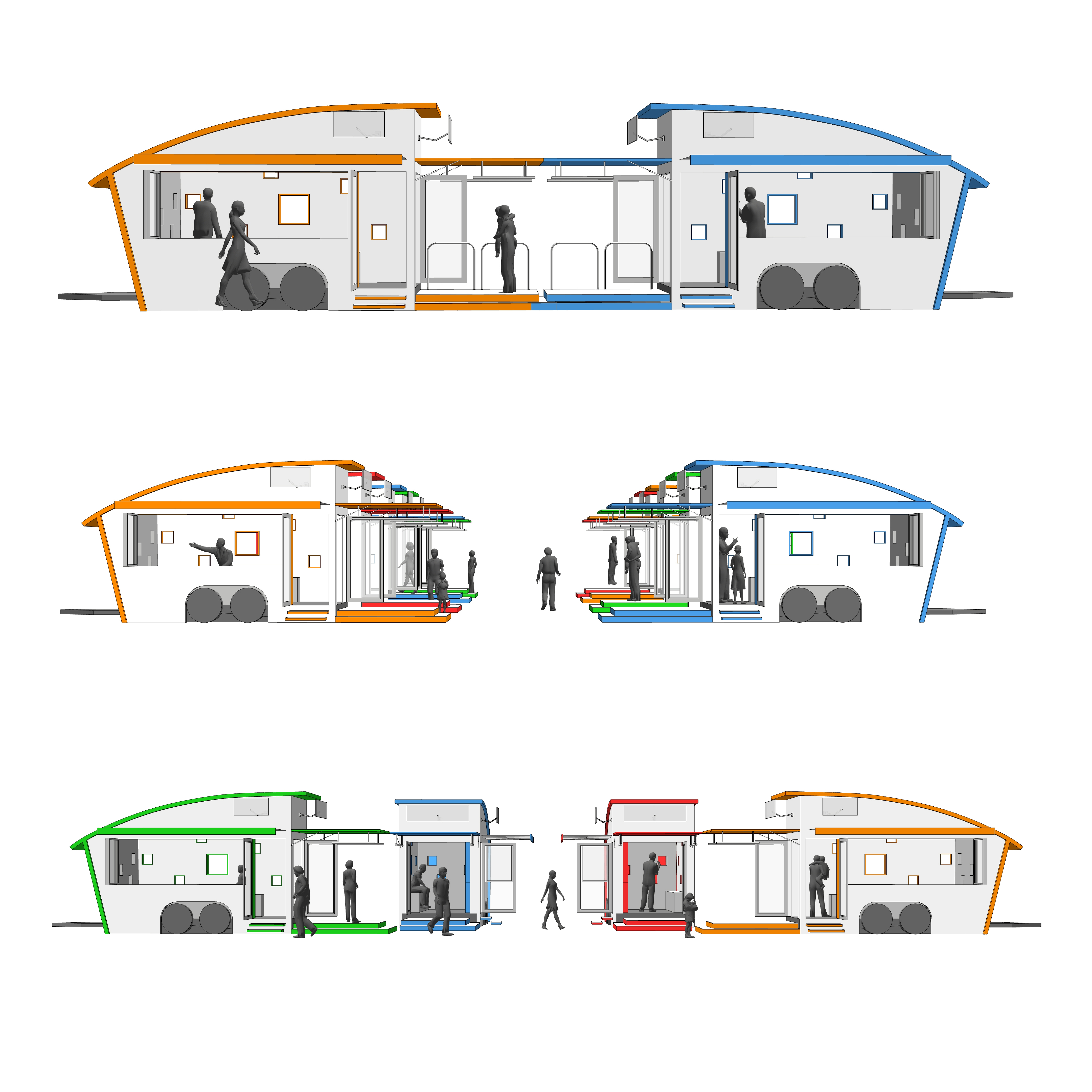 PEOPLE'S RETAIL - mobile tiny retail pods