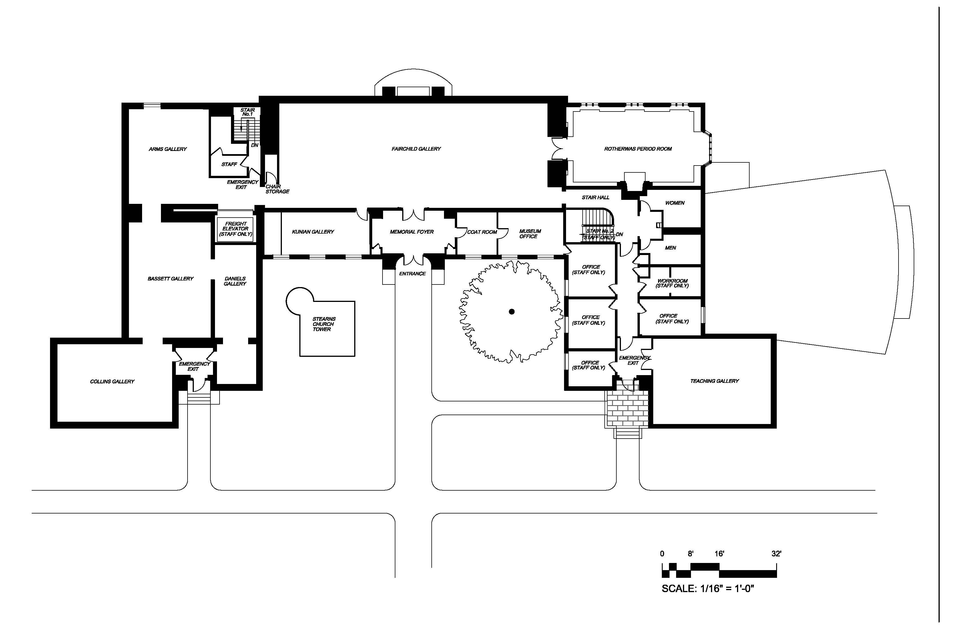 Museum_Ground_Plan-Layout1 Amherst Mead Art Museum Renovation